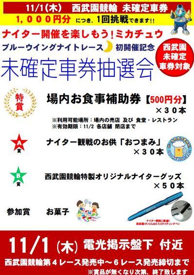 ナイター開催ミカチュウ.JPG